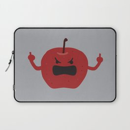 Ultra Angry Apple Laptop Sleeve