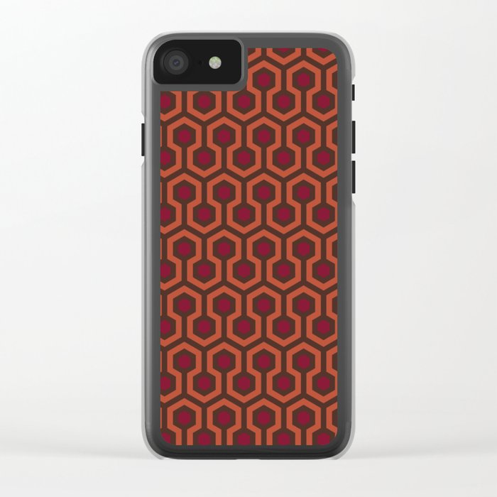 The Shining Area Rug Clear iPhone Case