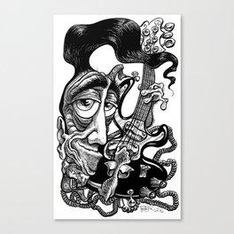 Fluid Rudy Canvas Print