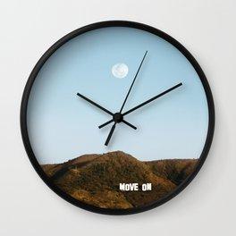 Move on Wall Clock
