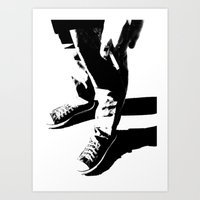 indie Art Prints featuring Indie Rock by alex lodermeier