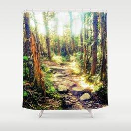 Zealand Forest Shower Curtain