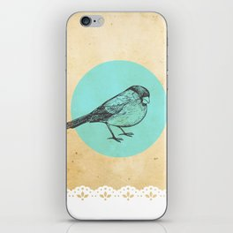 Spotted bird iPhone Skin