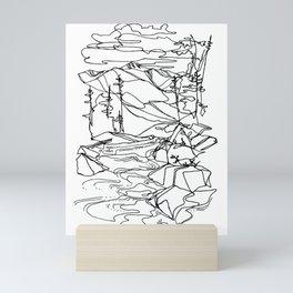 Kaslo River Flow Mini Art Print