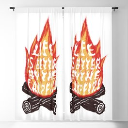 Campfire Blackout Curtain