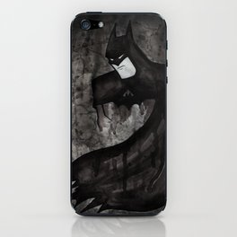 Black Bat iPhone Skin