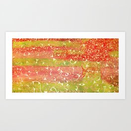 Wonderworld Art Print