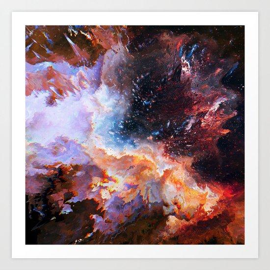 Canis Major Art Print