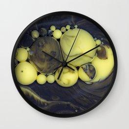 Bubbles-Art - Isaac Wall Clock