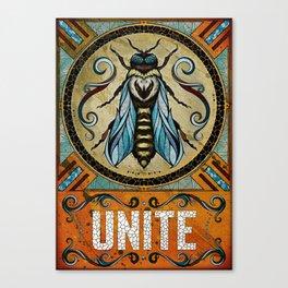 Unite Canvas Print