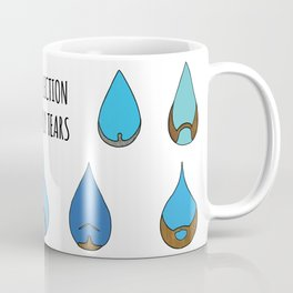 My Collection of Manly Tears Coffee Mug