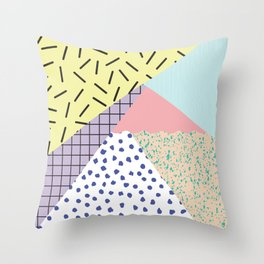Blasted Throw Pillow