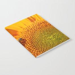 Sunflower & Bee Notebook