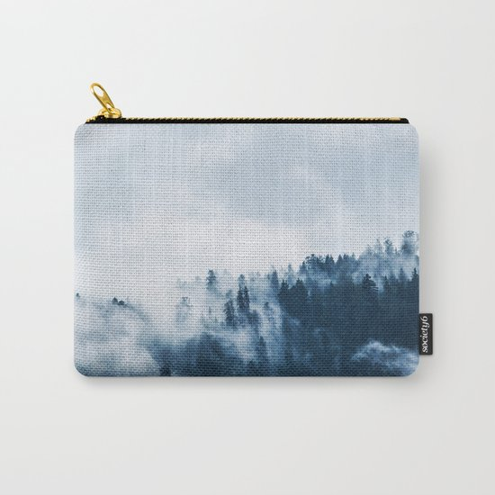 Smoke & Fog #blue Carry-All Pouch