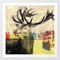 ...im Wald Art Print