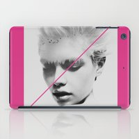 "stripe iPad Cases featuring PiNk STripe to ART by ""CVogiatzi."