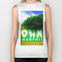 memphis Biker Tanks featuring OWN Memphis by John Weeden