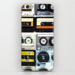 cassette nostalgy iPhone Skin