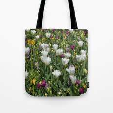 Blumen Beet  Tote Bag