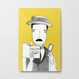 Sherlock Jr. Metal Print