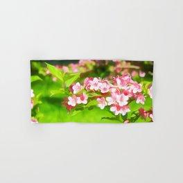 Flower Art Two Hand & Bath Towel
