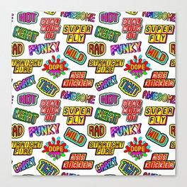 Funky pattern #03 Canvas Print