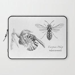 European Wasp, Vespula germanica  Laptop Sleeve