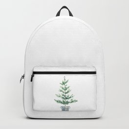 Christmas fir tree Backpack