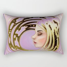 Still Move Rectangular Pillow