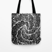 dot Tote Bags featuring •Dot• by Maria Paula Quiva