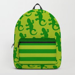 Green Lizard Backpack