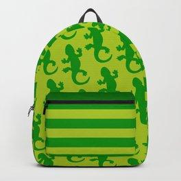 Green Lizard Backpack