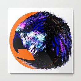 Bird Circle Color Metal Print