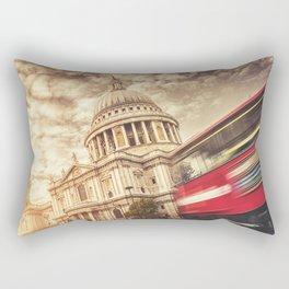 st. paul with bus Rectangular Pillow