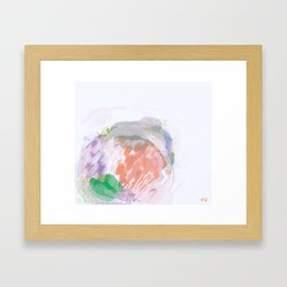 Interactions With Others Framed Art Print