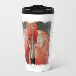 Flamingo in Literature II Travel Mug