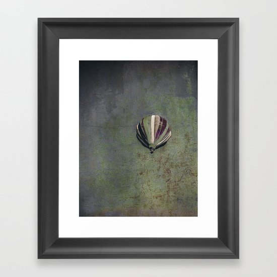 earth + sky Framed Art Print
