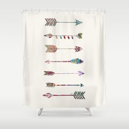 seven arrows Shower Curtain