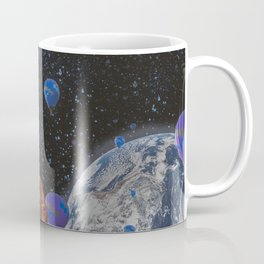 The slow trip in the universe Coffee Mug