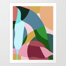 Tropicores Art Print