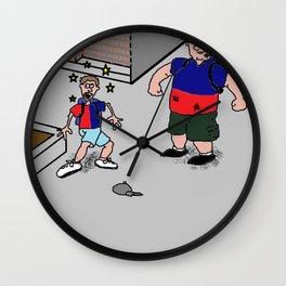 Casey Slam Wall Clock