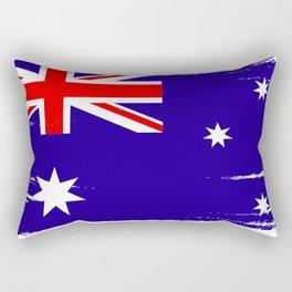Australian flag Rectangular Pillow