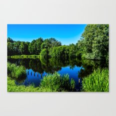 Little Lake  Canvas Print