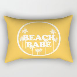 Beach Babe Rectangular Pillow