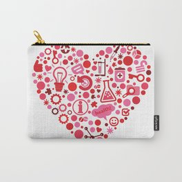 Biotech Heart Carry-All Pouch