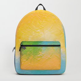 Modern Multi Color Abstract Backpack