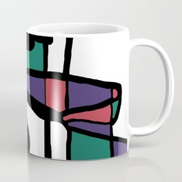 Abstract Painting Design - 5 Coffee Mug