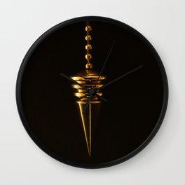 Gold Arrow Wall Clock
