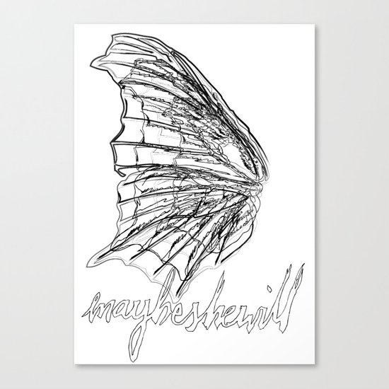 MSW Wing #01 Canvas Print