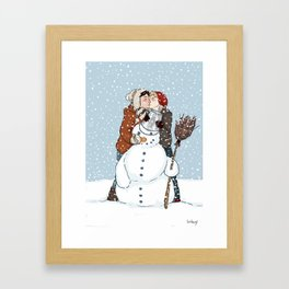 Shingeki No Christmas - Jeanmarco II Framed Art Print